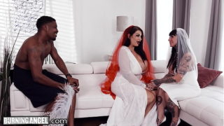 Burningangel Bbw Bride With Large Boobs Has the Sex of Her Life With the Groomsman