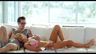 Puremature – Hot Blonde Alix Lynx Awesome Oral Sex